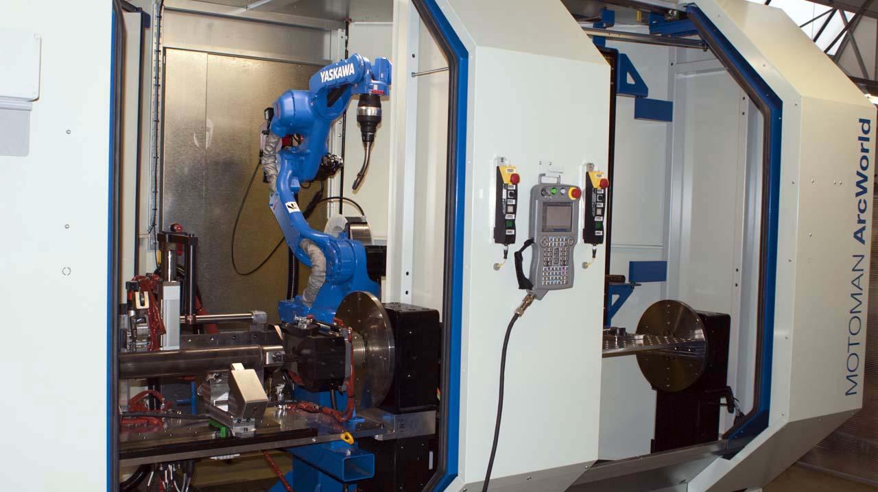 Un robot de soudure pour des emplois: une série de cinq vidéos